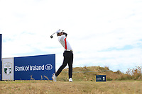 Phachara Khongwatmai (THA) tees off the 2nd tee during Friday's Round 2 of the 2018 Dubai Duty Free Irish Open, held at Ballyliffin Golf Club, Ireland. 6th July 2018.<br /> Picture: Eoin Clarke | Golffile<br /> <br /> <br /> All photos usage must carry mandatory copyright credit (&copy; Golffile | Eoin Clarke)