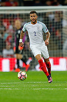 Kyle Walker (Tottenham Hotspur) of England during the FIFA World Cup qualifying match between England and Malta at Wembley Stadium, London, England on 8 October 2016. Photo by David Horn / PRiME Media Images.