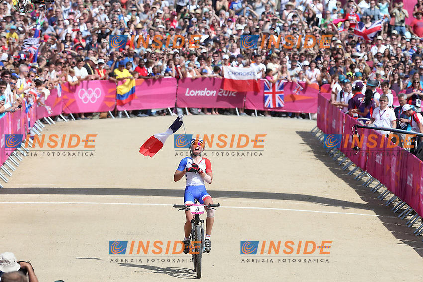 Julie Bresset - France - Championne Olympique .Olimpiadi Londra 2012.London 2012 Olympic Games.foto Insidefoto - Italy ONLY
