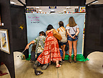 Behind the scenes in the Art display. Saturday at the 80th Amador County Fair, Plymouth, Calif.<br /> .<br /> .<br /> .<br /> .<br /> #AmadorCountyFair, #1SmallCountyFair, #PlymouthCalifornia, #TourAmador, #VisitAmador