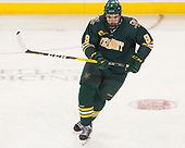 Brian Bowen (UVM - 9) - The visiting University of Vermont Catamounts tied the Boston College Eagles 2-2 on Saturday, February 18, 2017, Boston College's senior night at Kelley Rink in Conte Forum in Chestnut Hill, Massachusetts.Vermont and BC tied 2-2 on Saturday, February 18, 2017, Boston College's senior night at Kelley Rink in Conte Forum in Chestnut Hill, Massachusetts.