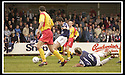26/04/2003                   Copyright Pic : James Stewart.File Name : stewart-falkirk v ayr 03.STUART TAYLOR SCORES FALKIRK'S SECOND......James Stewart Photo Agency, 19 Carronlea Drive, Falkirk. FK2 8DN      Vat Reg No. 607 6932 25.Office     : +44 (0)1324 570906     .Mobile  : +44 (0)7721 416997.Fax         :  +44 (0)1324 570906.E-mail  :  jim@jspa.co.uk.If you require further information then contact Jim Stewart on any of the numbers above.........
