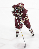 Joe Rooney of Canton, Massachusetts is one of two alternate captains for the Boston College Eagles.  The senior forward, son of former NHLer Steve Rooney, earned the James E. Tiernan Memorial Award as Most Improved player his junior season.  The Boston College Eagles defeated the University of Wisconsin Badgers 3-0 on Friday, October 27, 2006, at the Kohl Center in Madison, Wisconsin in their first meeting since the 2006 Frozen Four Final which Wisconsin won 2-1 to take the national championship.<br />