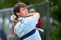 Ollie Schniederjans (USA) watches his tee shot on 17 before dropping his iron during round 3 of the Valero Texas Open, AT&amp;T Oaks Course, TPC San Antonio, San Antonio, Texas, USA. 4/22/2017.<br /> Picture: Golffile | Ken Murray<br /> <br /> <br /> All photo usage must carry mandatory copyright credit (&copy; Golffile | Ken Murray)