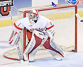 Charlie Effinger - The Boston College Eagles defeated the Miami University Redhawks 5-0 in their Northeast Regional Semi-Final matchup on Friday, March 24, 2006, at the DCU Center in Worcester, MA.