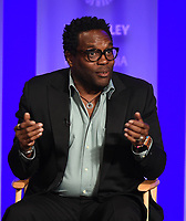 "HOLLYWOOD, CA - MARCH 17: Chad L. Coleman at the PaleyFest 2018 - ""The Orville"" panel at the Dolby Theatre on March 17, 2018 in Hollywood, California. (Photo by Scott Kirkland/Fox/PictureGroup)"