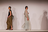 Collection by Saleha Hashmi from the University of Salford. Graduate Fashion Week 2014, Runway Show at the Old Truman Brewery in London, United Kingdom. Photo credit: Bettina Strenske