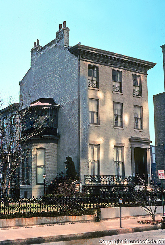 St. Louis: Campbell House, 1851. 1508 Locust St. Photo '77.