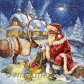 Marcello, CHRISTMAS SANTA, SNOWMAN, WEIHNACHTSMÄNNER, SCHNEEMÄNNER, PAPÁ NOEL, MUÑECOS DE NIEVE, paintings+++++,ITMCXM1221A,#X#