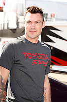 LOS ANGELES - APR 5: Brian Austin Green at the 35th annual Toyota Pro/Celebrity Race Press Practice Day on April 5, 2011 in Long Beach, California