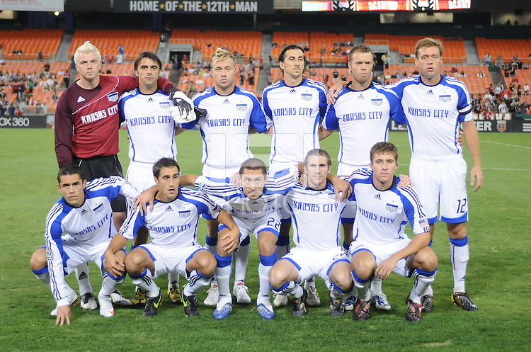 Kansas City Wizards Staring Eleven.  DC United defeated The Kansas City Wizards 1-0 at RFK Stadium, Wednesday September 9 , 2009.