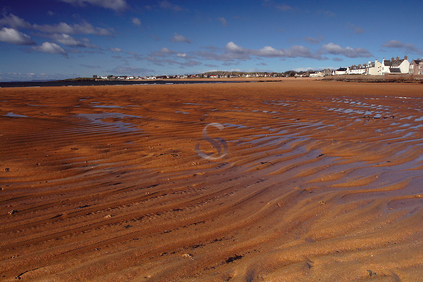 Sand ripples on the award winning beach at Elie, the East Neuk of Fife, Scotland<br /> <br /> Copyright www.scottishhorizons.co.uk/Keith Fergus 2011 All Rights Reserved