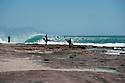 Cortney Brown and Ry Craike at  Jake Pt in Kalbarri, Western Australia.