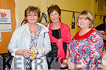 Enjoying theBallybunion Fashion Show in aid of  St Joseph's Secondary school at Tintean Theatre on Thursday were Anna Marie Mulvihill, Ann Cummins and Joan Marie Hennessy