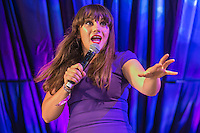 19th July 2014: English comedian Vikki Stone plays the Comedy Arena on the third day of the 9th edition of the Latitude Festival, Henham Park, Suffolk. <br /> Picture by Stuart Hogben