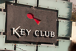Key Club live music venue on the Sunset Strip in West Hollywood, CA
