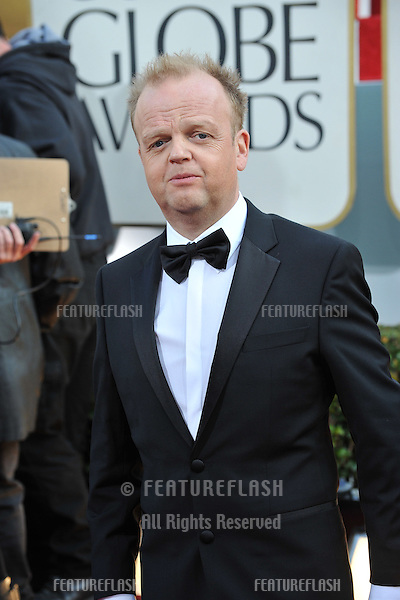 Toby Jones at the 70th Golden Globe Awards at the Beverly Hilton Hotel..January 13, 2013  Beverly Hills, CA.Picture: Paul Smith / Featureflash