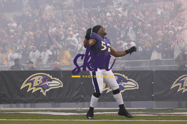 The top two defenses in the NFL faced off in a rematch of week 4 as the Ravens hosted the Steelers in a division clinching game. Late in the fourth quarter the Steelers made some key plays on defense that allowed their offense to march down the field and score the only touchdown of the game giving them a 13 - 9 win over the Baltimore Ravens.