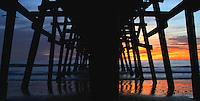 San Clemente Pier Stock Photo