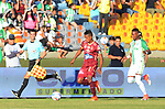 Atlético Nacional venció como local 1-0 a Deportes Tolima. Fecha 4 Liga Águila II-2017.