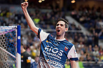 R. Renov. Zaragoza Adrian Ortego celebrating a goal during Futsal Spanish Cup 2018 at Wizink Center in Madrid , Spain. March 16, 2018. (ALTERPHOTOS/Borja B.Hojas)