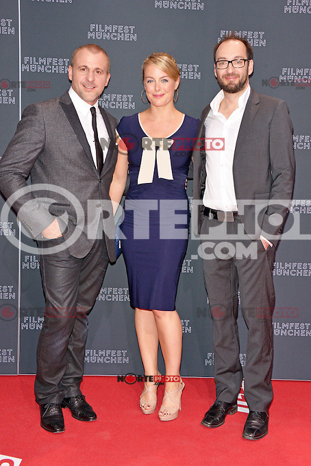 Patrick Huard, Julie LeBreton and Ken Scott attending the &quot;Starbuck&quot; opening premiere during the 30th Munich Film Festival held at the Mathaeser Filmpalast in Munich, Germany, 29.06.2012...Credit: Timm/face to face /MediaPunch/*NortePhoto*<br /> **CREDITO*OBLIGATORIO** *No*Venta*A*Terceros* *No*Sale*So*third** **No *Se*Permite*HacerArchivo**