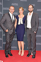 Patrick Huard, Julie LeBreton and Ken Scott attending the &quot;Starbuck&quot; opening premiere during the 30th Munich Film Festival held at the Mathaeser Filmpalast in Munich, Germany, 29.06.2012...Credit: Timm/face to face /MediaPunch/*NortePhoto*<br />