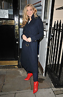 Natalie Dormer at the &quot;Venus in Fur&quot; evening performance theatre cast departures, Theatre Royal Haymarket, Suffolk Street, London, England, UK, on Thursday 26 October 2017.<br /> CAP/CAN<br /> &copy;CAN/Capital Pictures /MediaPunch ***NORTH AND SOUTH AMERICAS ONLY***