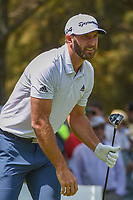 Dustin Johnson (USA) watches his tee shot on 11 during round 1 of the World Golf Championships, Mexico, Club De Golf Chapultepec, Mexico City, Mexico. 3/1/2018.<br /> Picture: Golffile | Ken Murray<br /> <br /> <br /> All photo usage must carry mandatory copyright credit (&copy; Golffile | Ken Murray)