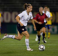 Lauren Cheney. The USWNT defeated Sweden, 3-0.