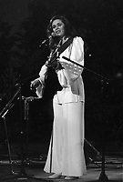 Edith Butler<br />  - Ottawa Civic Centre, Aout 1971<br /> <br /> <br /> PHOTO : Agence Quebec Presse