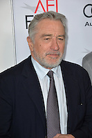 LOS ANGELES, CA. November 11, 2016: Actor Robert De Niro at premiere of &quot;The Comedian&quot;, part of the AFI Fest 2016, at the Egyptian Theatre, Hollywood.<br /> Picture: Paul Smith/Featureflash/SilverHub 0208 004 5359/ 07711 972644 Editors@silverhubmedia.com