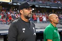 Nova York (EUA), 24/07/.2019 - Liverpool x Sporting  - Jürgen Klopp treinador do Liverpool durante partida contra o Sporting partida amistosa no Yankee Statium em Nova York nos Estados Unidos nesta quarta-feira, 24. (Foto: William Volcov/Brazil Photo  Press)