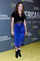 "NEW YORK - APRIL 9: Jamie Neumann, Actress The Deuce attends National Geographic's ""America Inside Out with Katie Couric"" Premiere Screening at the Titus Theater at MOMA on April 9, 2018 in New York City. ""America Inside Out with Katie Couric"", a new six-part documentary series, follows Couric as she travels the country to talk with the people bearing witness to the most complicated and consequential questions in American culture today. The weekly series premieres Wednesday, April 11, 2018, at 10/9c and will air globally on National Geographic.(Photo by Anthony Behar/National Geographic/PictureGroup)"