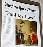 Guiding Light's Tom Pelphrey stars with Nina Arianda, Sam Rockwell and Gordon Joseph Weiss in Broadway's Fool For Love on opening night - October 8, 2015 at the Samuel J. Friedman Theatre, 47th Street, New York City, New York with after party. (Photo by Sue Coflin/Max Photos)