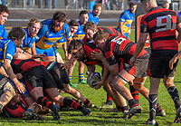 Action from the Horowhenua-Kapiti premier club rugby final Ramsbottom Cup match between Paraparaumu and Waikanae at Levin Domain in Levin, New Zealand on Saturday, 22 July 2017. Photo: Dave Lintott / lintottphoto.co.nz
