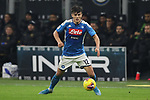 Elif Elmas of Napoli during the Coppa Italia match at Giuseppe Meazza, Milan. Picture date: 12th February 2020. Picture credit should read: Jonathan Moscrop/Sportimage