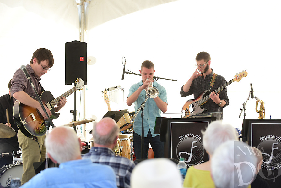 NWA Democrat Gazette/SPENCER TIREY  The Northwest Arkansas Jazz Society invites you to Jazz in Bloom