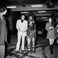 Sly and the Family Stone<br /> au Forum de Montreal, 3 mars 1972<br /> <br /> PHOTO : Agence Quebec Presse - Roland Lachance<br /> <br /> <br /> <br /> Sly and the Family Stone was an American band from San Francisco. Active from 1966 to 1983, it was pivotal in the development of funk, soul, rock, and psychedelic music.