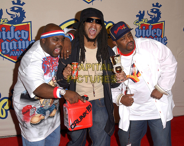 LIL' JON & THE EASTSIDE BOZ.attends The 2nd Annual Spike T.V. Video Game Awards held at Barkar Hangar in Santa Monica, California, USA,.December 14th 2004..half length.Ref: DVS.www.capitalpictures.com.sales@capitalpictures.com.©Capital Pictures.