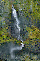 Mist Falls in Columbia River Gorge National Scenic Area, Oregon