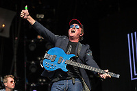Mark King of Level 42 performs at Rewind South Festival 2017 at Temple Island Meadows, Henley-on-Thames, England on 19 August 2017. Photo by David Horn/PRiME Media Images