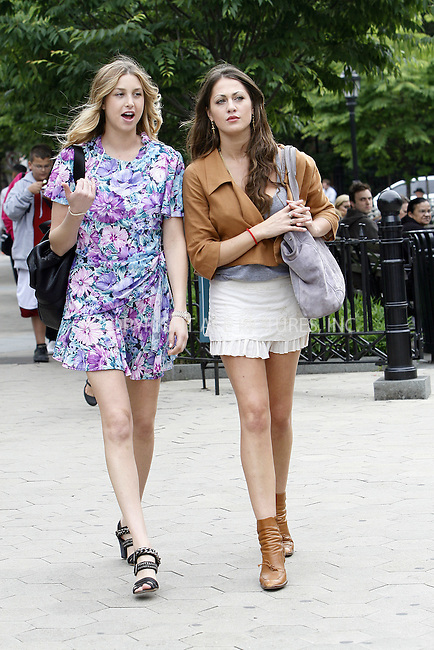 WWW.ACEPIXS.COM . . . . .  ....June 17 2009, New York City....TV personality Whitney Port (L)  was walking around in the West Village of Manhattan on June 17 2009 in New York City.....Please byline: NANCY RIVERA- ACE PICTURES.... *** ***..Ace Pictures, Inc:  ..tel: (212) 243 8787 or (646) 769 0430..e-mail: info@acepixs.com..web: http://www.acepixs.com