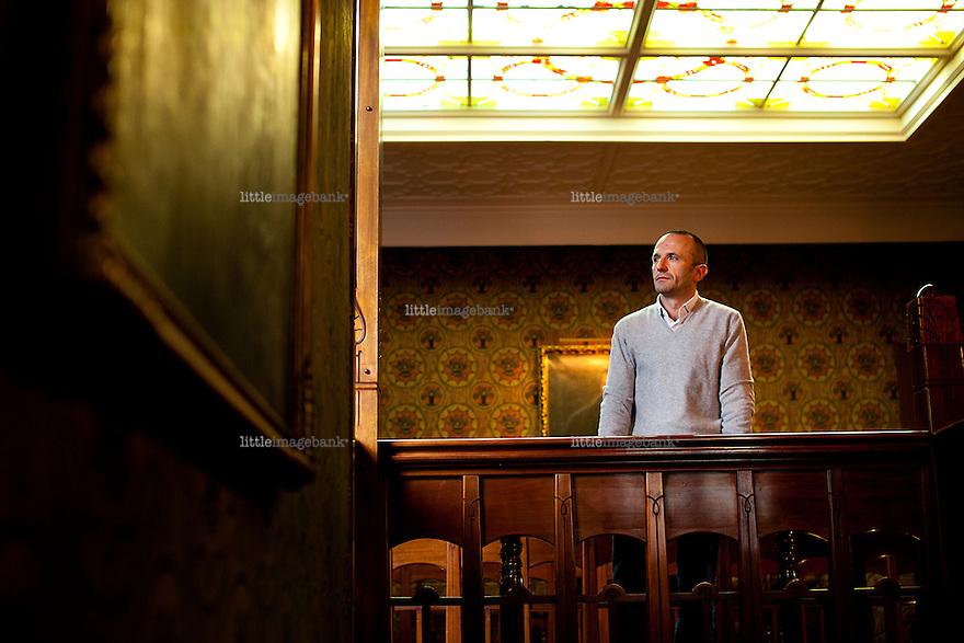 Oslo, Norge, 13.11.2012. fabrizio gatti er en italiensk journalist for det prestisjetunge italienske tidsskriftet L'espresso. Han har nylig gitt ut boken Bilal. Foto: Christopher Ossøn.
