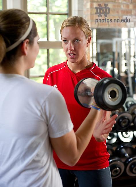 Jul. 14, 2011; RecSports Personal Training..Photo by Matt Cashore/University of Notre Dame
