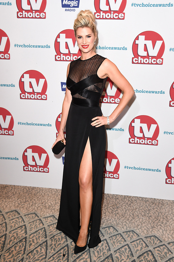 Sarah Jayne Dunn<br /> arriving for the TV Choice Awards 2017 at The Dorchester Hotel, London. <br /> <br /> <br /> ©Ash Knotek  D3303  04/09/2017