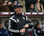 Tony Pullis manager of West Bromwich Albion - Barclays Premier League - Burnley vs West Bromwich Albion - Turf Moor Stadium  - Burnley - England - 8th February 2015 - Picture Simon Bellis/Sportimage