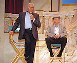 Andy Griffith and Don Knotts.attending an ANDY GRIFFITH SHOW Reunion at the Disney MGM Studios, Walt Disney World Theme Park in Orlando, Florida..August 11, 1992.