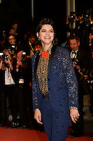 Soko, attend the 'It's Only The End Of The World (Juste La Fin Du Monde)' Premiere during the 69th annual Cannes Film Festival at the Palais des Festivals on May 19, 2016 in Cannes