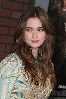 HOLLYWOOD, CA - FEBRUARY 6: Alice Englert at the Los Angeles premiere of Warner Bros. Pictures' 'Beautiful Creatures' at TCL Chinese Theatre on February 6, 2013 in Hollywood, California. Credit: mpi29/MediaPunch Inc. /NortePhoto
